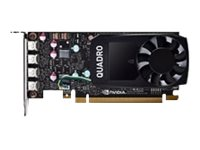 NVIDIA Quadro P620 Half Height (Precision SFF) - Grafikkort - Quadro P620 - 2 GB GDDR5 - PCIe 3.0 x16 - 4 x Mini DisplayPort - för Precision 3430 Small Form Factor; Precision Tower 3420 (SFF) 490-BEQY